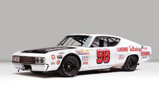 1969 Ford Torino Talladega Racing Version Front View