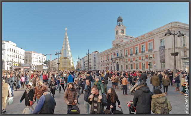 Puerta del Sol Madrid