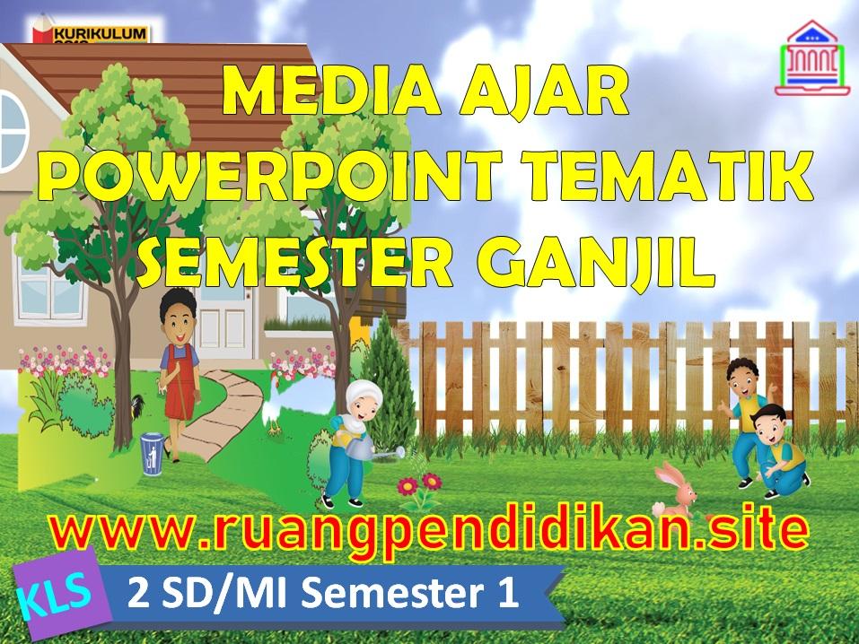 Media Ajar PowerPoint (PPT) Kelas 2 SD/MI