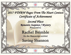SECOND PLACE - RWA Pages From The Heart Contest