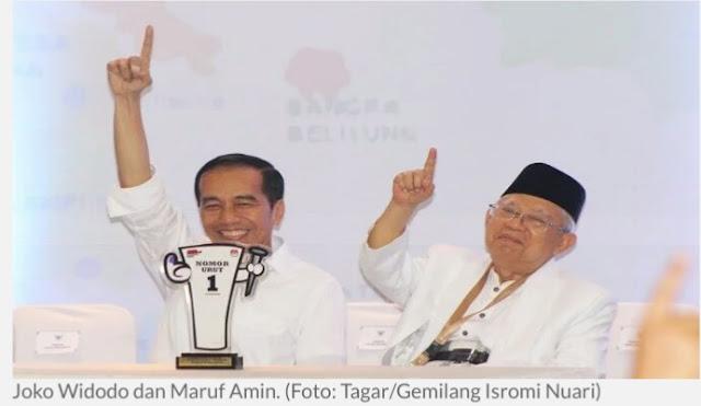 Berita Tentang Bocoran, Kabinet Jokowi - Ma'ruf Beredar di Media
