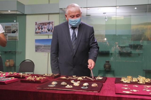 850 gold artefacts belonging to the Scythian-Saka era found in Kazakhstan