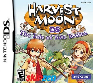 Download Game Harvest Moon Tale Of The Two Towns NDS