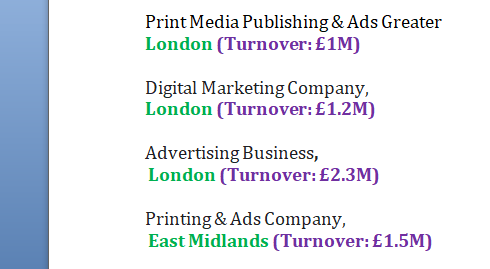 Buy A Business Media, Publishing & Advertising Online for sale