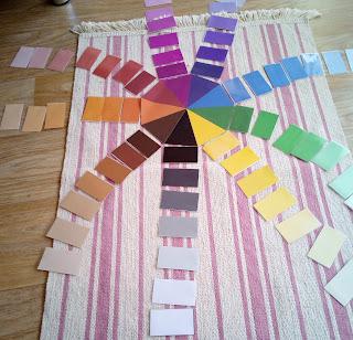 boîte de couleurs n° 3 montessori DIY tuto