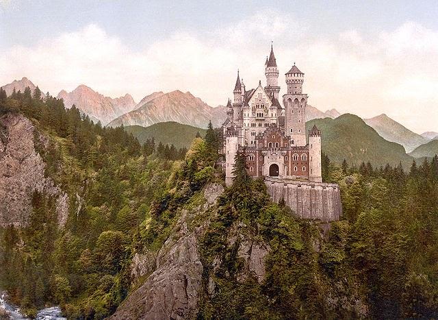 gambar istana neuschwanstein tempat frankfurt wisata jerman terpopuler