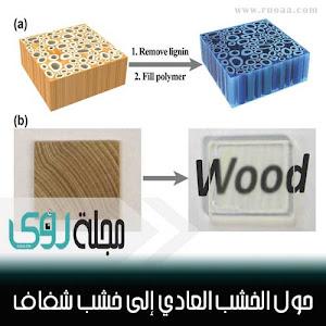 اصنع بنفسك : حول الخشب العادي إلى خشب شفاف ؟!