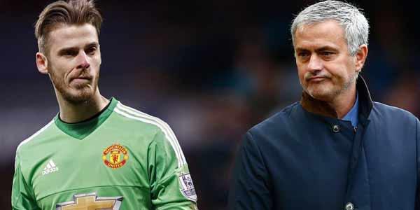 Ada Mourinho di MU, De Gea Tolak Pindah ke Madrid