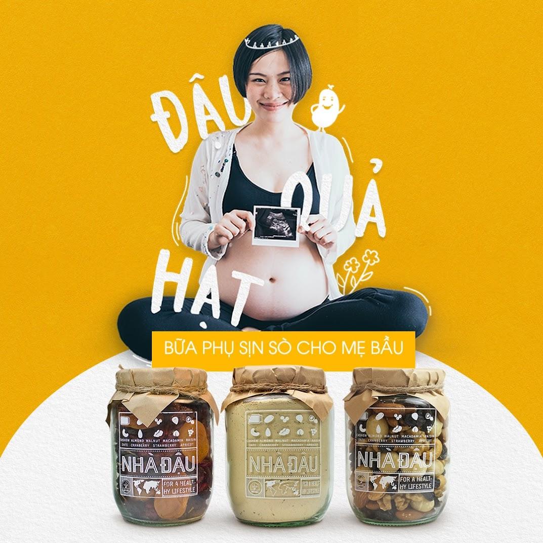 [A36] Lợi ích tuyệt vời cho Mẹ Bầu khi ăn hạt dinh dưỡng trong thai kỳ