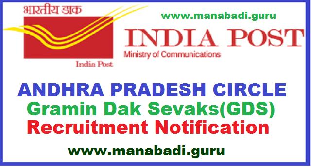 AP GDS Jobs,India Postal Jobs,Central govt jobs,AP Postal Jobs