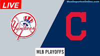 Yankees-de-Nueva-York-vs-Indios-de-Cleveland-Playoffs