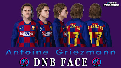 PES 2020 Faces Antoine Griezmann by DNB
