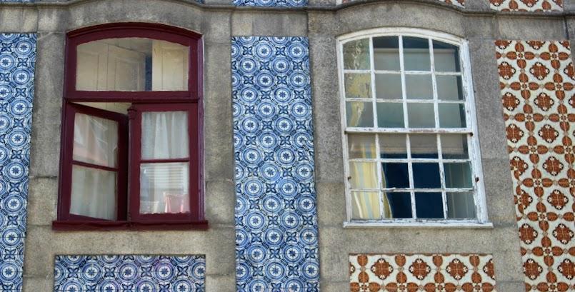 Azulejos w Porto / Les azulejos de Porto