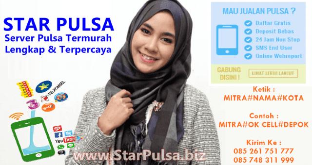 StarPulsa.biz Adalah Web Resmi Server Star Pulsa Murah CV Cahaya Multi Solution