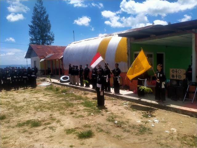 Prosesi Kenaikan Sabuk Tingkat Pesilat PSHT Di Kampoeng Londho Banyuurip