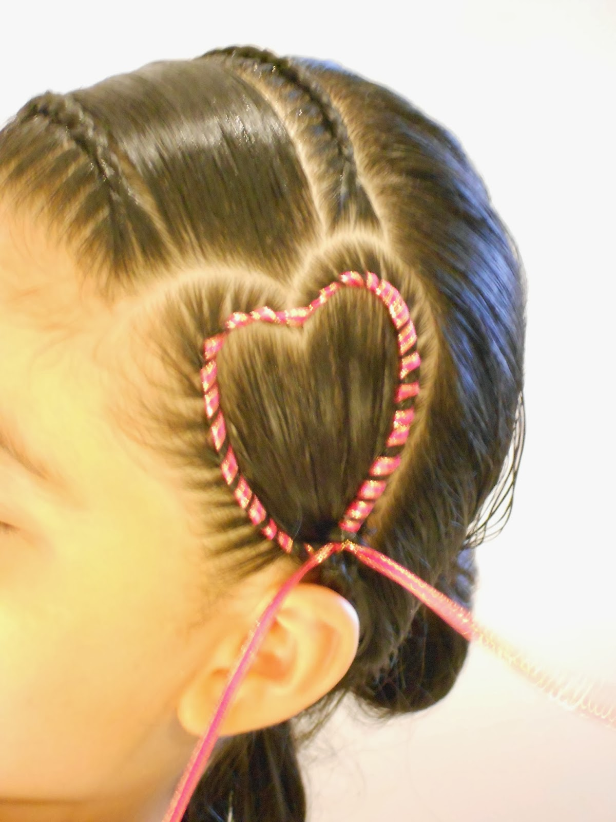 Imagenes de peinados de trenzas con cintas