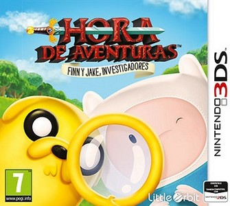 Rom Adventure Time Finn & Jake Investigations 3DS
