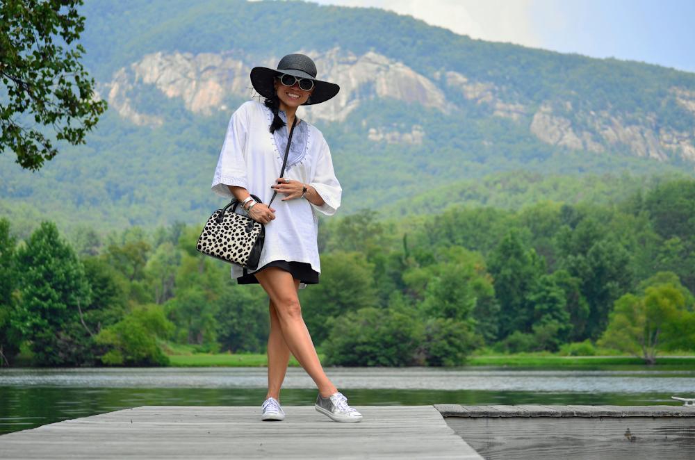White Kaftan Outfit
