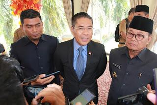Gubernur Jambi Sambut Baik Kunjungan Kerja Menteri Dan Konsul Singapura