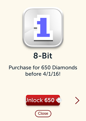 The 8 Bit Custom Dice Can Be Purchased For 650 Diamonds Before 4 1 2016 See More