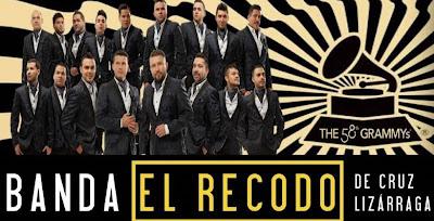 Presentaciones Banda El Recodo abril y mayo 2016