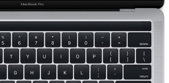 The new MacBook Pro with Touch Bar OLED and Touch ID appears in all its splendor before its presentation