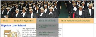 Nigeria-law-school-result-checking