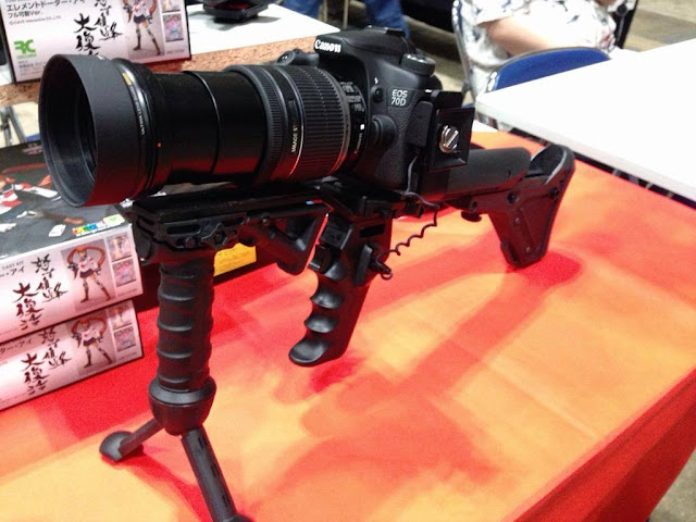 camera that looks like a gun