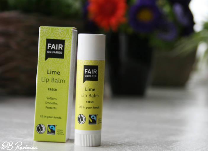 Fair Squared Lime Shower Gel AND Lip Balm