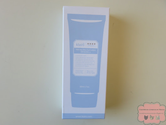 Review: Klairs Mid-day Blue Sun Lotion SPF40/PA++