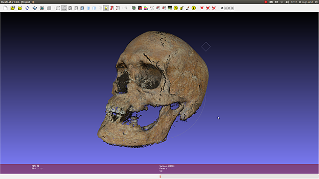ATOR: Forensic facial reconstruction with free software