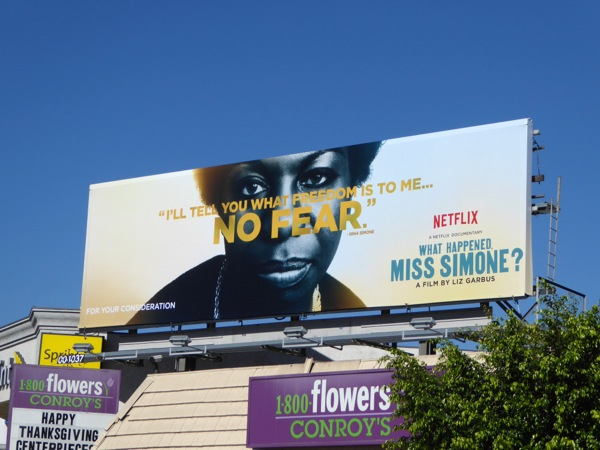 No Fear What Happened Miss Simone billboard