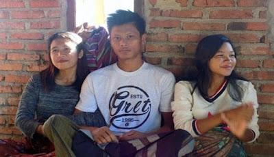 Pria di Lombok ini Nikahi Dua Pacarnya Sekaligus Karena Bingung Tak Bisa Memilih Salah Satunya