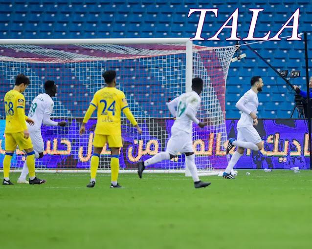 فوز الأهلي على النصر في الجولة الثامنة من الدوري السعودي