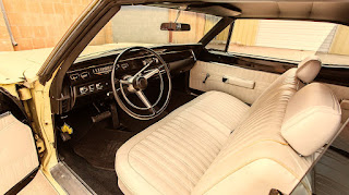 1968 Dodge Coronet 500 Sport Coupe Interior