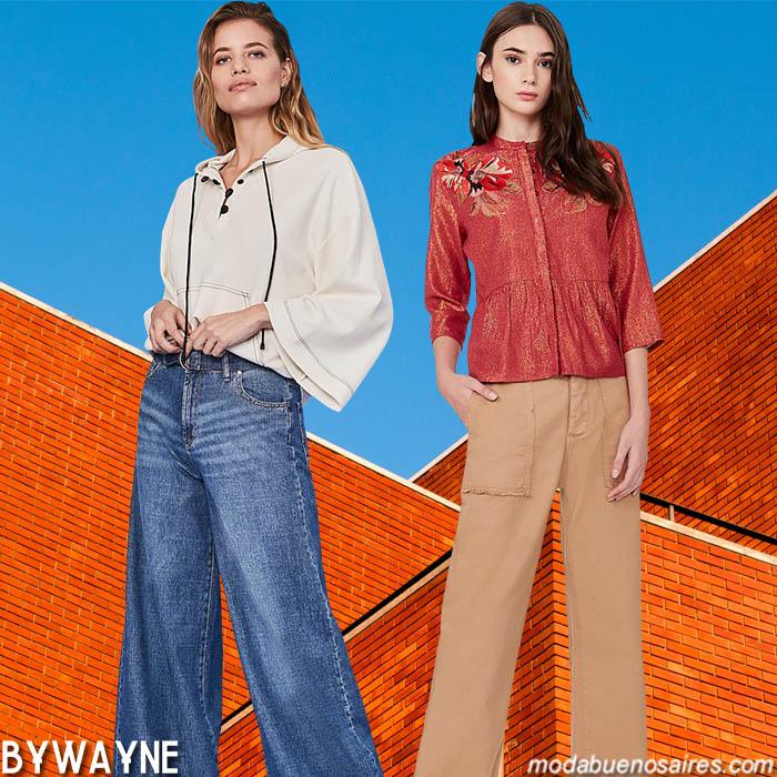 Moda jeans y pantalones de mujer primavera verano 2020.