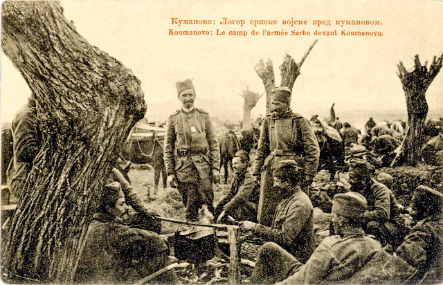 Camp of the Serbian army near Kumanovo - First Balkan War