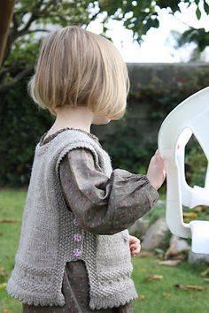 wzory kamizelek dla dzieci