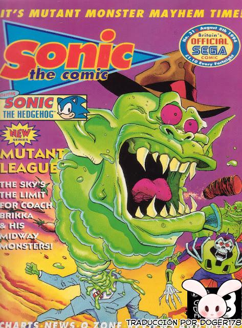 Actualización 02/04/2018: Se agregan los pequeño cómics pertenecientes a la publicaciónes Sonic The Comic numero 29, 30 y 31 por Doger 178 y Sting11431 de The Tails Archive y La casita de Amy Rose, disfrútenlos.
