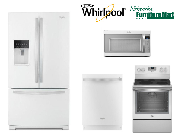 Whirlpool Appliances  White Ice Collection from Nebraska Furniture Mart
