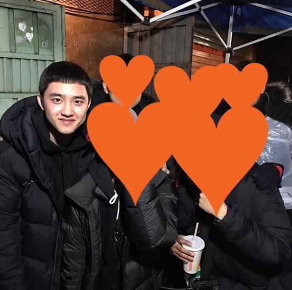 [TRANS] 170220 Room No. 7 Staff's Instagram Update with D.O