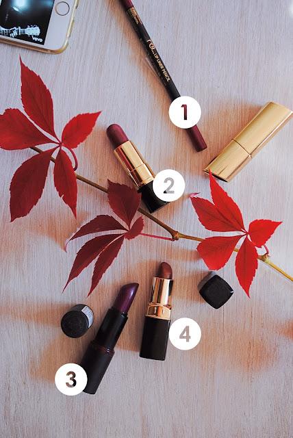 Autumn Dark Lipsticks