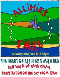 Allihies 5 mile race on the Wild Atlantic Way... Sat 23rd June 2018