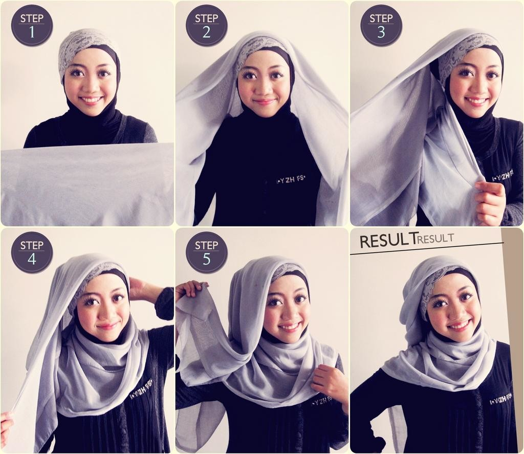 Unique Hijabpashmina Hijab Tutorial Hijab Pashmina Bubble