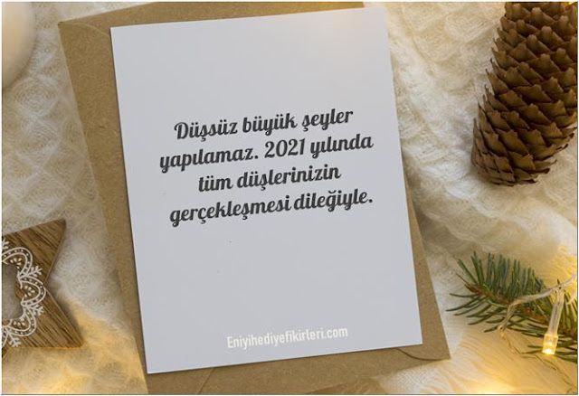 2021 yılbaşı mesajları