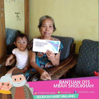 Mbah Sholikhah : Bantuan OTS
