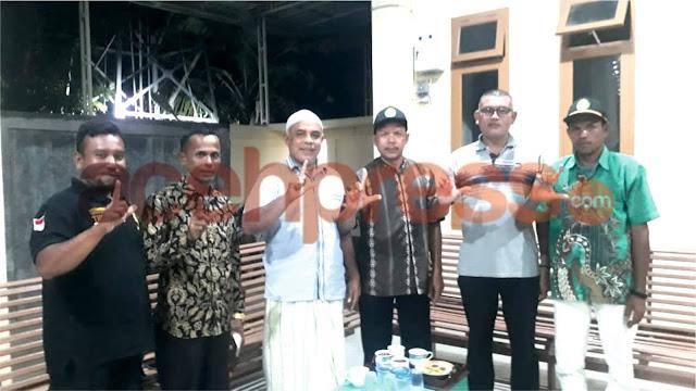 Tim Khusus LEMBATU Menyambangi Kediaman H.Jamal Abadi Beureunuen