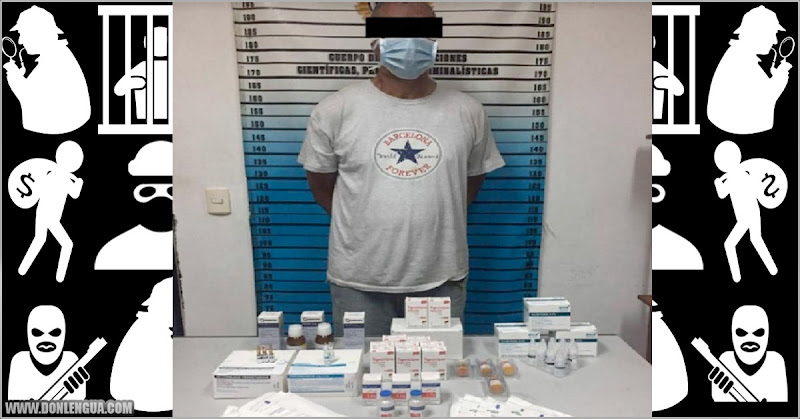 Vigilante del Hospital Pediátrico del Cementerio se robaba las medicinas y las vendía en dólares