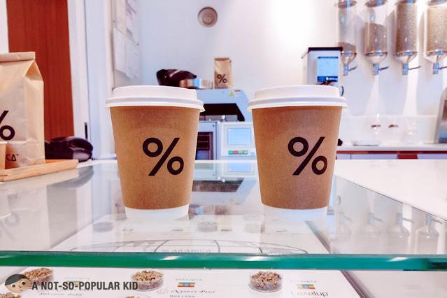 % Arabica Coffee Orders - W City Center, BGC