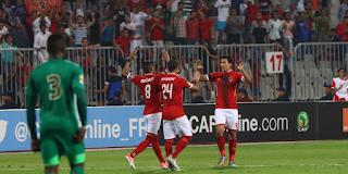 نتيجة مباراة الأهلي ووادي دجلة اليوم الإثنين 25-12-2017 في الدوري المصري